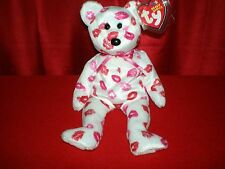 Ty Beanie Baby KISSY MINT Bear and tags  RETIRED Kisses Collectors Quality