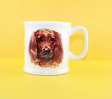 Irish Setter Dog White Coffee Cup Mug Puppy Dog Lovers