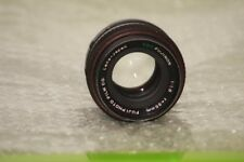 FUJI EBC FUJINON 55 F 1.8 55mm 1,8 1:1 8 M42 screw mount  Fujica Fujifilm