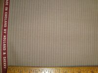 "4.72 yd Holland Sherry Wool Cashmere Capitana 9 oz Luxury Suiting Taupe 170"" BTP"