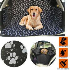More details for car rear back seat cover pet dog cat auto protector waterproof hammock mat uk