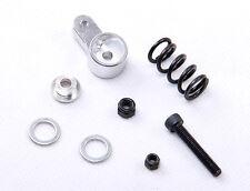 AU 1/5 Rovan Baja Steering Servo Saver & Spring set Alloy Silver fit KM PRC Rova