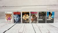 Cassette Tape x6 Lot ROD STEWART Picture Town Blondes Camouflage Order Self