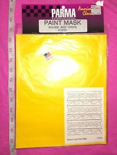 PARMA INTERNATIONAL #10751 - PAINT MASK - WAVES AND DRIPS - MADE IN THE USA!!!