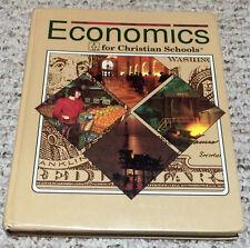 BJU Bob Jones (12th grade) ECONOMICS for Christian Schools 12: Student Text