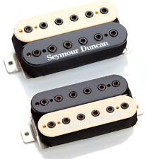 Seymour Duncan SH-10 Full Shred Neck & Bridge Humbucker Set - zebra free ship