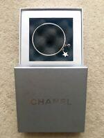 Authentic Chanel silver bracelet