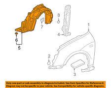 HONDA OEM 02-05 Civic-Front Fender Liner Splash Shield Right 74101S6A000
