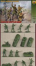 1:72 figuras 8077 WWII Soviet Infantry platoon kursk 1943-zvezda