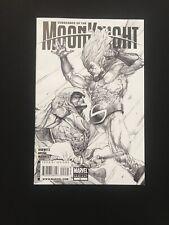 VENGEANCE OF MOON KNIGHT #2 - 2ND PRINT SKETCH VARIANT Rare Marvel 2009