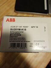 SU201M-K15, ABB, Mini Circuit Breaker K-Characteristic, 10Kam 15A, 1 Ul489
