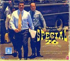 SPECIAL 26 - ( AKSHAY KUMAR) - NEW BOLLYWOOD SOUNDTRACK CD