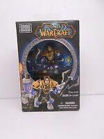 Mega Bloks World of Warcraft Colton Figure & Battle Set NIB 28 pcs New in Box