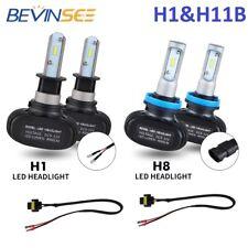 For Hyundai Sonata 2009-2010 4x H1 & H11B LED Headlights Hi Low Beam Combo Bulbs