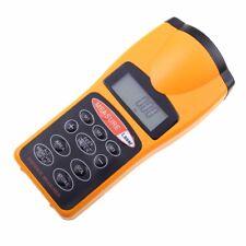 Electronic Digital Ultrasonic Laser Point Distance Measure Meter Measuring Tape