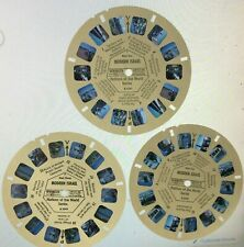 More details for vintage viewmaster modern israel nations of the world series 3 reel set b224