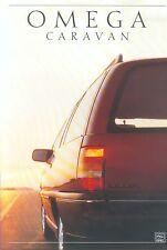 Opel Omega Caravan Prospekt 1988 11 88 brochure Auto PKWs Deutschland Verkehr