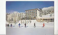 BF24002 crans montana valais hotel elite  ski  switzerland  front/back image