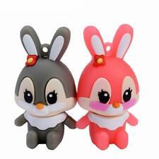 Pen Drive Plastic Cartoon Rabbit USB 2.0 Flash Memory Card Memory Stick Disks