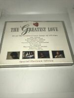 The Greatest Love - Double Cassette Tape - NMint Cond Telstar Records