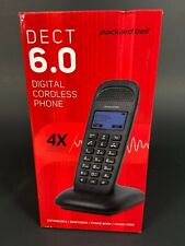 Packard Bell DECT 6.0 Digital Cordless Phone Expandable-Handsfree-Intercom NEW