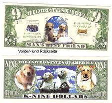 Dollarschein   Man`s Best Friend K-9 Dollars Woofwoof