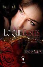 Infernus Animae Ser.: Lo Que Desees by Sasha Miles (2014, Paperback)