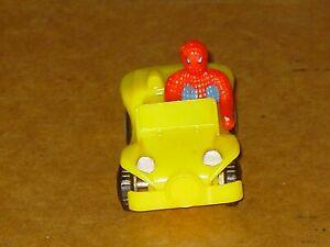 VINTAGE 1975 AZRAK-HAMWAY SPIDER MAN CAR BUGGY MARVEL COMICS NICE!