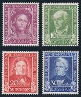 BUND 1949, MiNr. 117-120, 117-20, tadellos postfrisch, gepr. Schlegel, Mi. 110,-