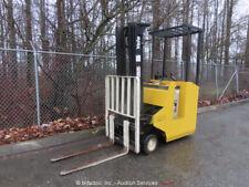 2003 Yale Esc030Abn24Te083 Ride-On Electric Forklift Order Picker 24V bidadoo