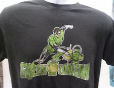 DC Comics The Green Lantern Superhero Shirt Power Battery Ring Size M