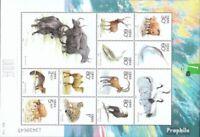 Volksrepublik China 3219-3228 Kleinbogen (kompl.Ausg.) gestempelt 2001 Geschützt