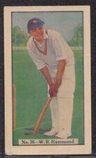 Allen's Cricketer 1938 No.36 W.R.Hammond - Q.T. Fruit Drops