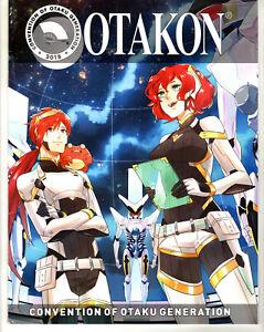 OTAKON 2018 Convention of Otaku Generation Anime Convention Program Guide Book