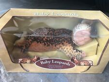Anne Geddes Baby Leopards Doll: Original Packaging