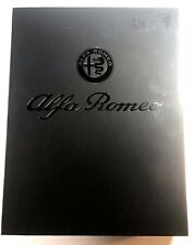 Alfa Romeo Genuine Leather Gift Set ID Wallets Photo Holder Accessory Booklet