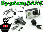 Microfono Stereo per NIKON D7000 D300s SONY A58 A99 A7 II A7R A7S / Con Clip
