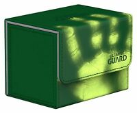 Sidewinder Chromiaskin Green 80+ Deck Box NEW Ultimate Guard Flipside