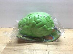 Nick & Nerf Brain Ball Rare Green W/ Nerf Action Hits Kenner Preview Catalog VTG