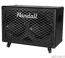 Randall RG212 2x12 100 Watts 8 Ohm Guitar Speaker Cabinet with Steel Grill