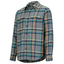 Marmot Zephyr Midweight Flannel Long-Sleeve Shirt - Men's SZ LARGE L $85 NEW