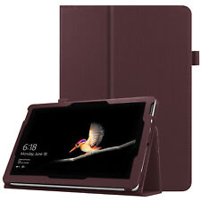 For Microsoft Surface Go 10 inch Tablet 2018 Folio Case Stand PU Leather Cover