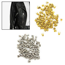 2mm Prong Studs Round Head Dome Silver/Gold Spike Punk Rivet for Leather Crafts