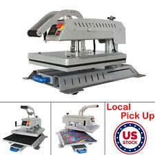 2400w 16 X 20 Swing Away Flat T Shirt Heat Press Machine Sublimation Transfer