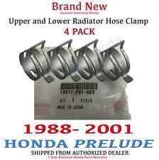 1988 - 2001 Honda PRELUDE Genuine OEM Honda Radiator Hose Clamp Kit Set of 4