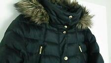 MICHAEL Kors Hooded Down Puffer Coat women's Plus Size Black Jacket  2X NICE