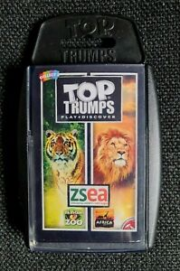 TOP  TRUMPS  ZSEA  ZOOLOGICAL SOCIETY EAST ANGLIA  BANHAM ZOO/AFRICA ALIVE.