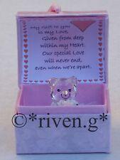 VALENTINE Teddy Bear@WITH LOVE@PINK Box@LOVE Verse@Glass@ROSE BUD@HEART Gift Set