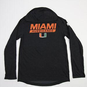 Miami Hurricanes adidas Aeroready Long Sleeve Shirt Men's New without Tags