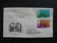 St Helena: 1966  WHO FDC Used